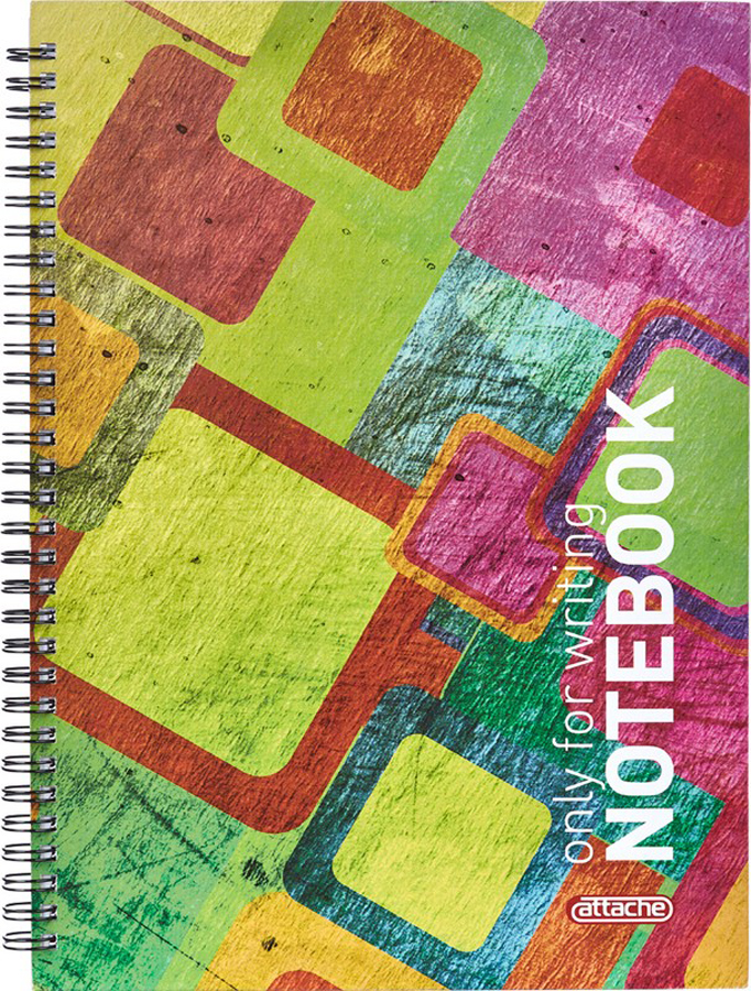 Attache Тетрадь Imagination 80 листов в клетку А4 цвет разноцветный