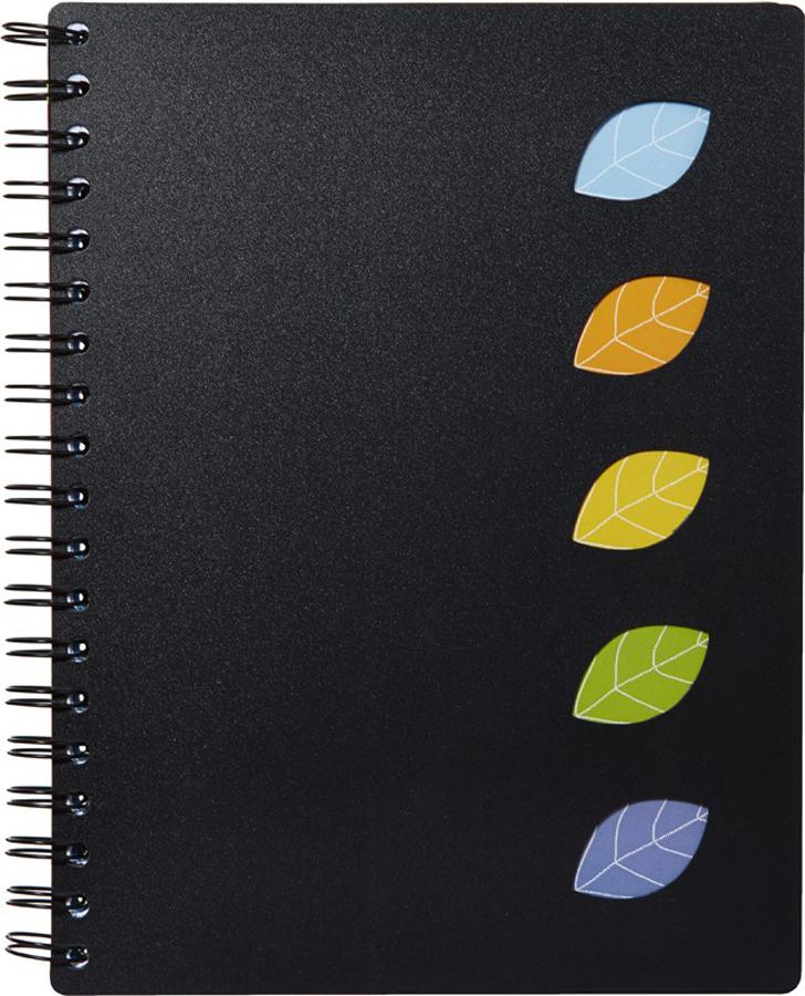 Attache Тетрадь Office Creative 120 листов А4 цвет черный
