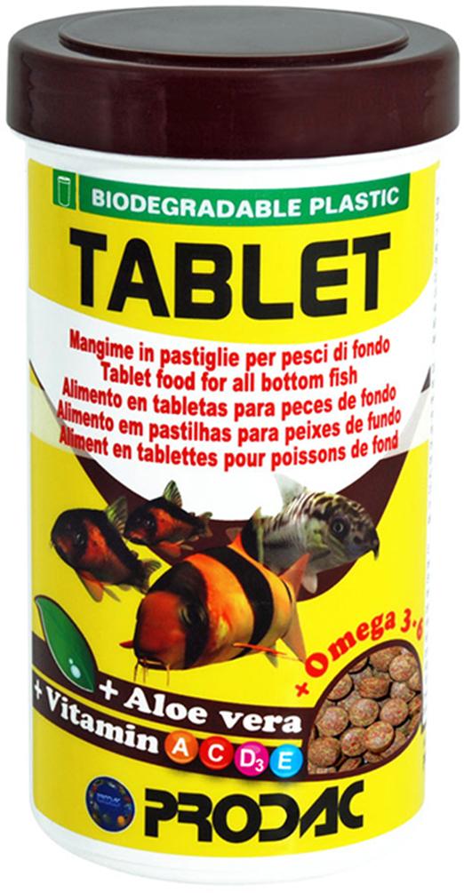 Корм сухой Prodac Tablet, для аквариумных пресноводных рыб, в таблетках, 750 г