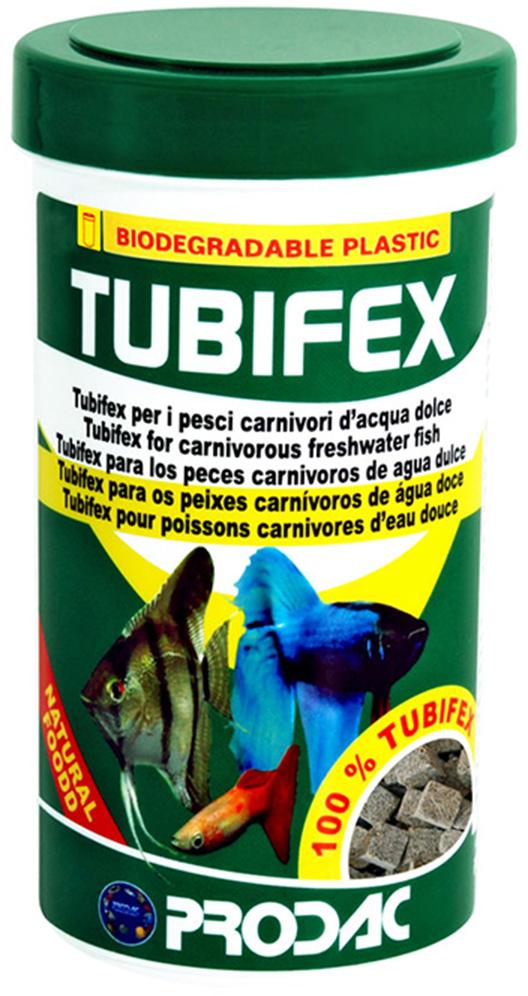 Корм сухой Prodac Tubifex, для аквариумных пресноводных рыб, 10 г корм сухой prodac tubifex для аквариумных пресноводных рыб 10 г