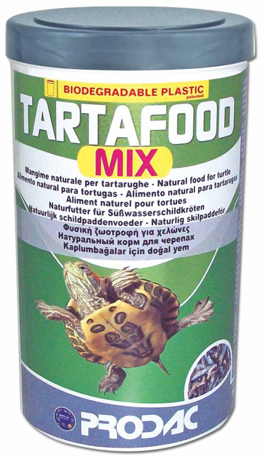 Корм сухой Prodac Tartafood Mix, для водных черепах, 200 г
