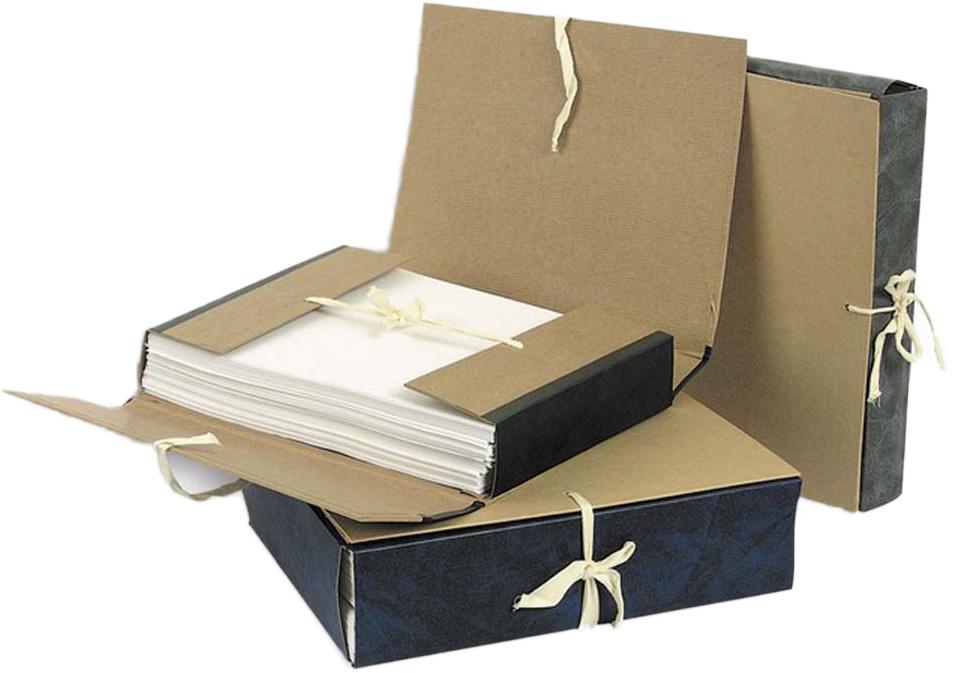 Attache Папка-регистратор на завязках А4 обложка 80 мм цвет синий