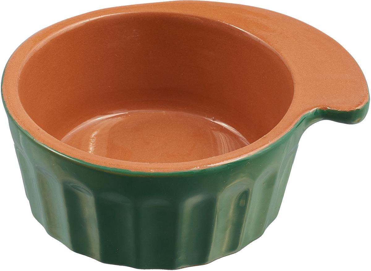 Кокотница Борисовская керамика Ностальгия, цвет: светло-коричневый, зеленый, 200 мл. РАД14457899 кокотница борисовская керамика ностальгия цвет красный 200 мл рад14457899