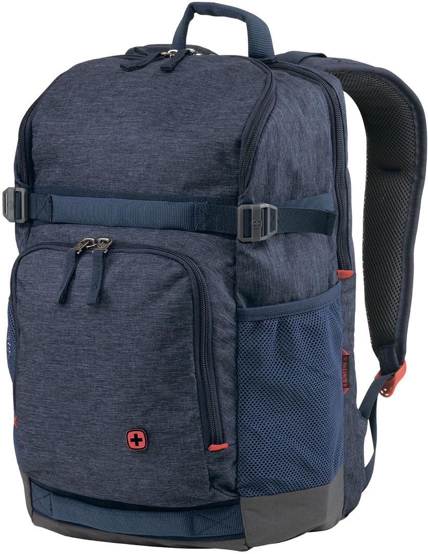 Рюкзак для ноутбука Wenger StreetFlyer, 16'', цвет: синий, 24 л wenger wenger рюкзак для ноутбука синий