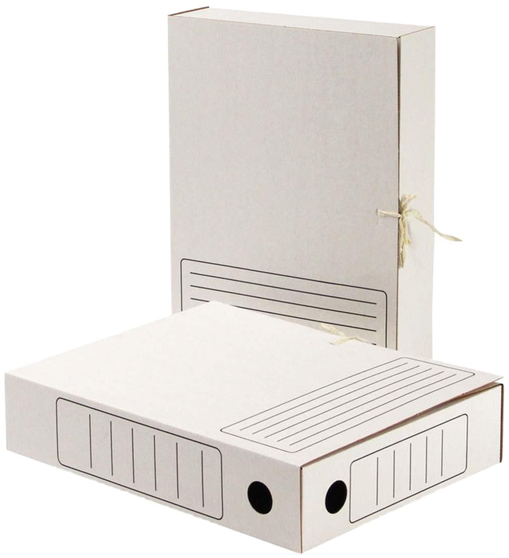 Attache Папка-регистратор с завязками А4 обложка 75 мм цвет белый128990Архивная папка-короб Attache формата А4 выполнена изгофрокартона белого цвета. Взакрытом состоянии фиксируется спомощью двух завязок. Ширина— 75мм. Предусмотрены поля для надписей. Вместимость— до450 листов стандартной плотности. Круглые отверстия накорешках предназначены для удобного захвата папки как ввертикальном, так ивгоризонтальном положении. Поставляется вразобранном виде. Размер изделия— 252 ? 75 ? 322мм.