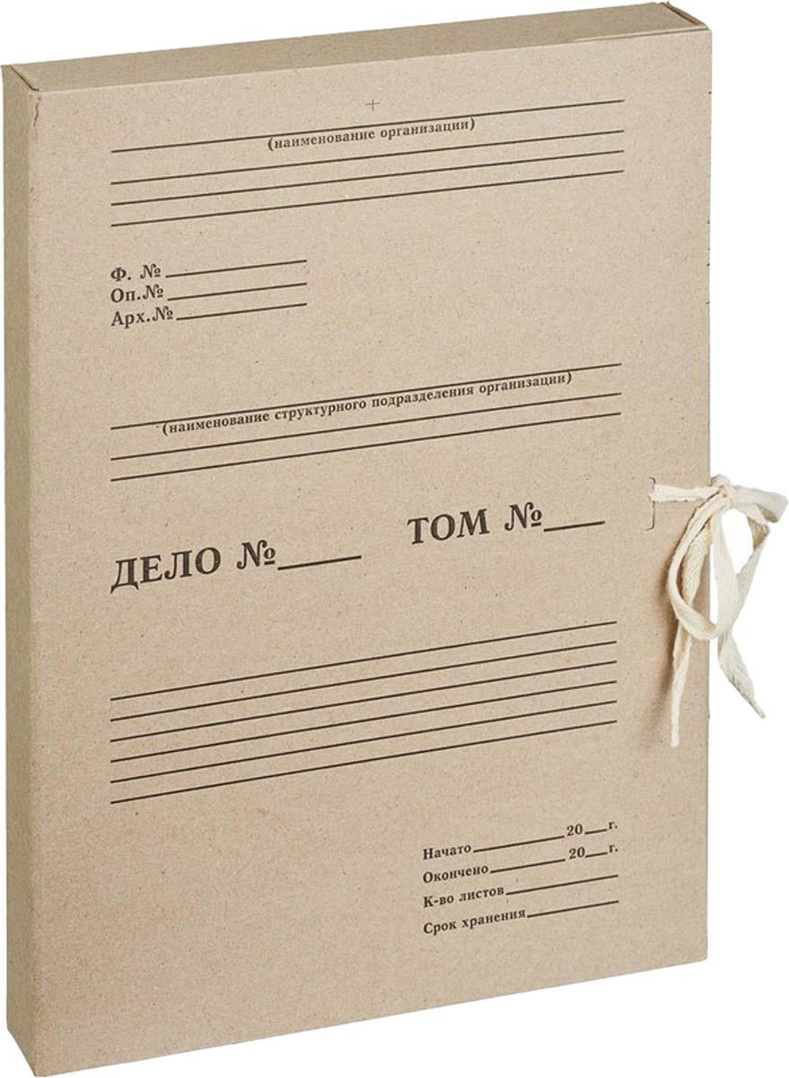 Attache Папка-регистратор на завязках Отчет Архив А4 обложка 35 мм папка comix франция а4 0 3 мм на 20 карманов