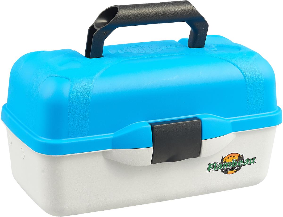 Ящик рыболовный Flambeau Classic Tray Series, двухполочный, 39,4 х 21,6 х 19,1 см ящик рыболовный следопыт one tray