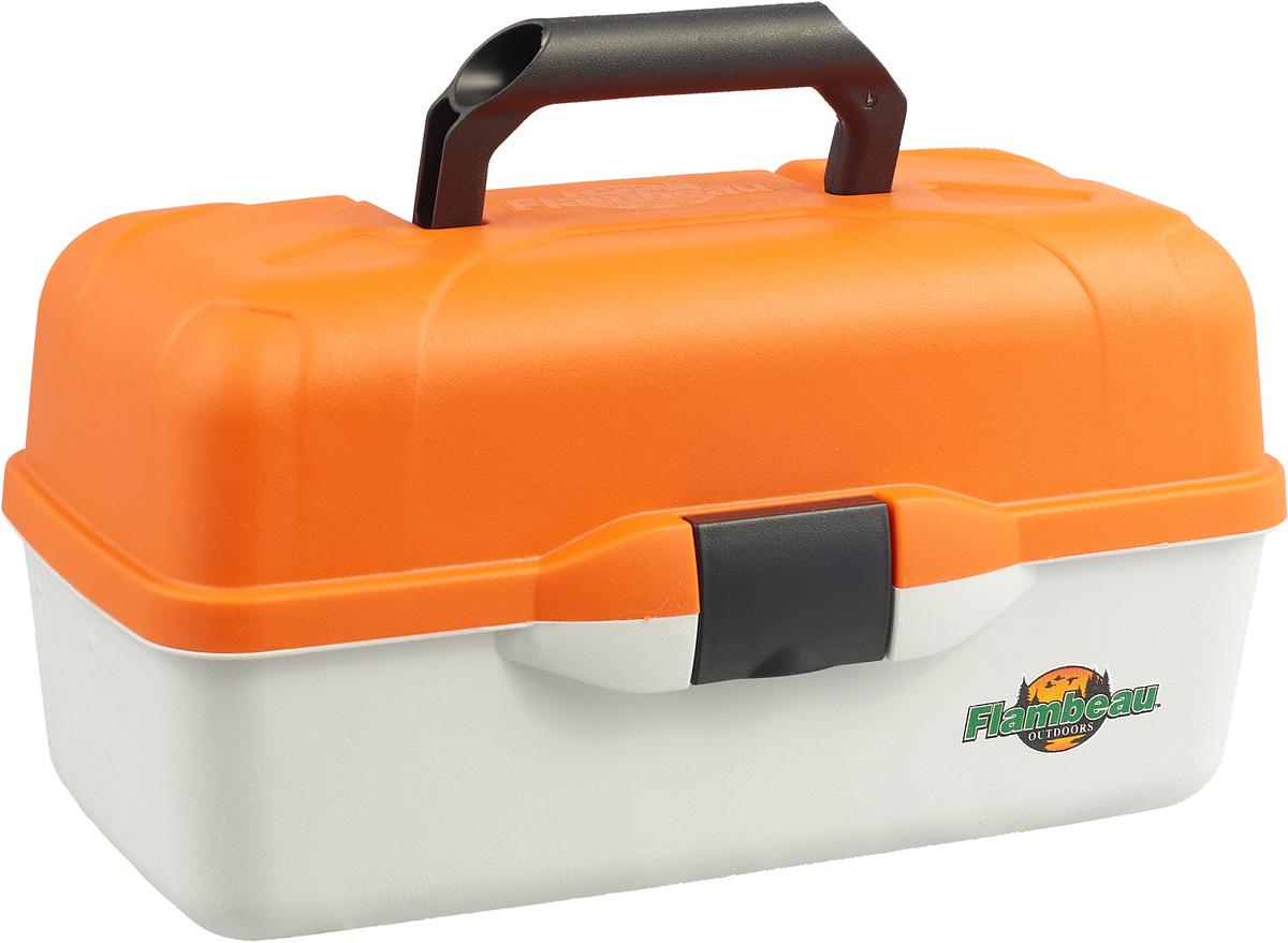 Ящик рыболовный Flambeau Classic Tray Series, трехполочный, 44,5 х 23,5 х 21,6 см ящик рыболовный следопыт one tray