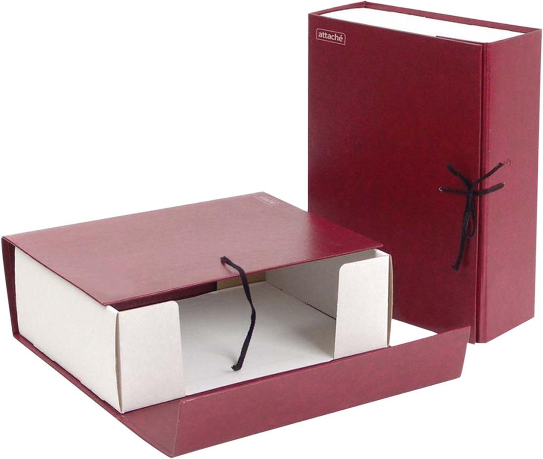 Attache Папка-регистратор складная А4 обложка 100 мм цвет красный