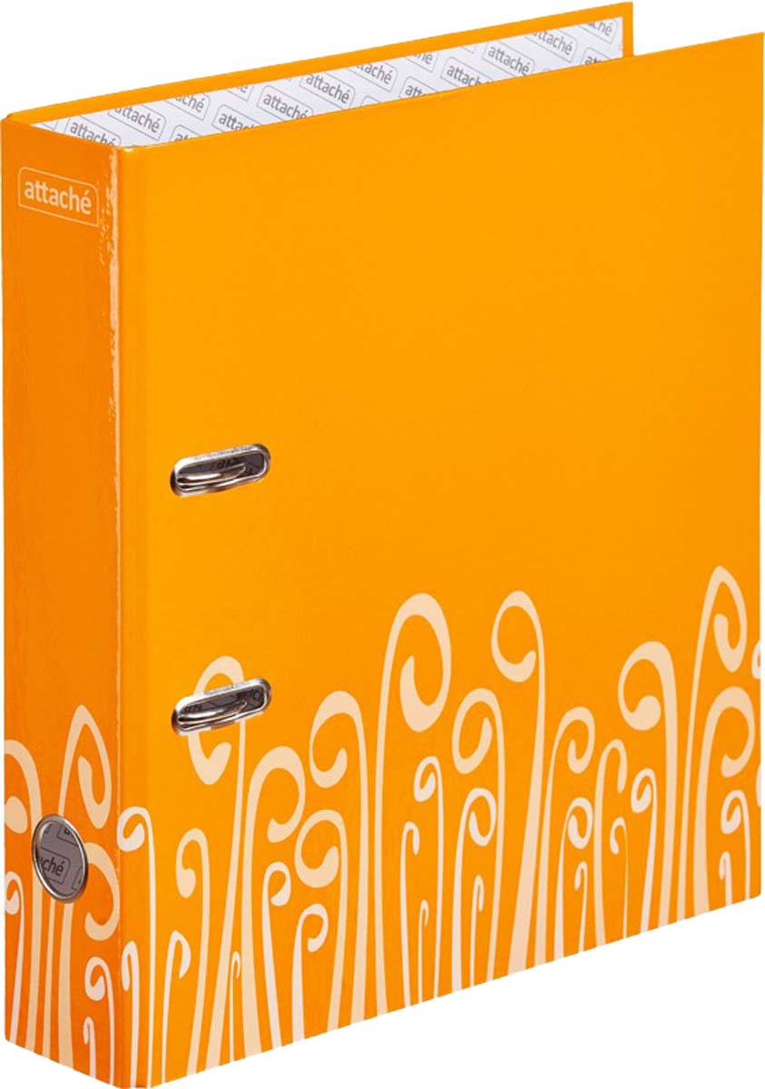 Attache Папка-регистратор с арочным механизмом Fantasy обложка 75 мм цвет оранжевый deltatrak16400 одноразовые температуры регистратор 60 день логистики транспорта температуры регистратор