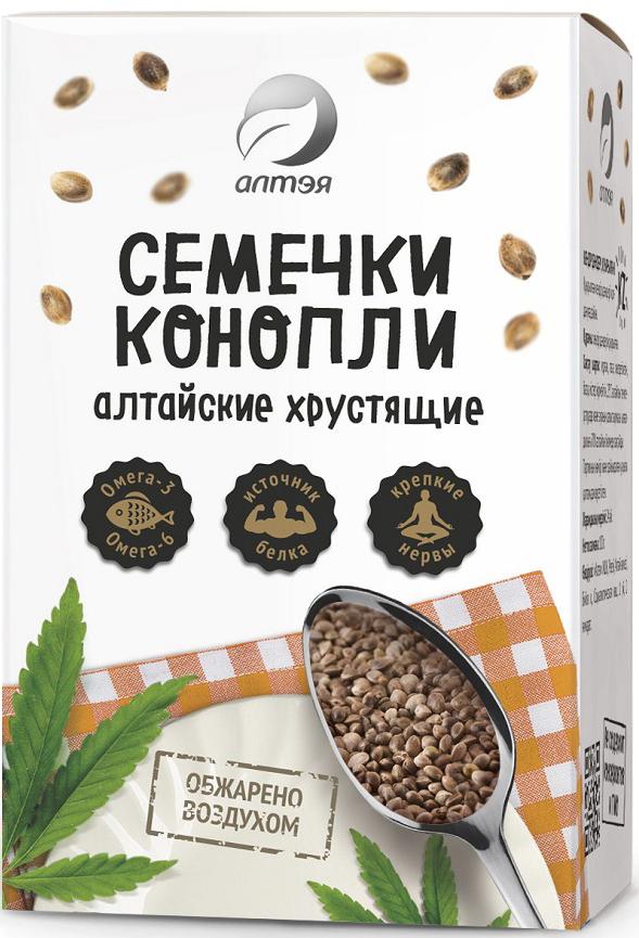 Алтэя Семечки конопли Алтайские хрустящие, 100 г витамины solgar кальций магний цинк 100 таблеток