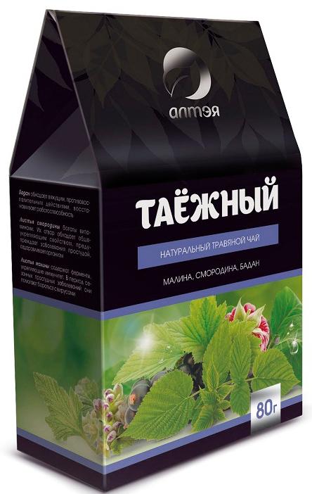 Алтэя Чайный напиток Травяной чай Таежный, 50 г teacher таежный сбор травяной купаж на основе черного чая 500 г