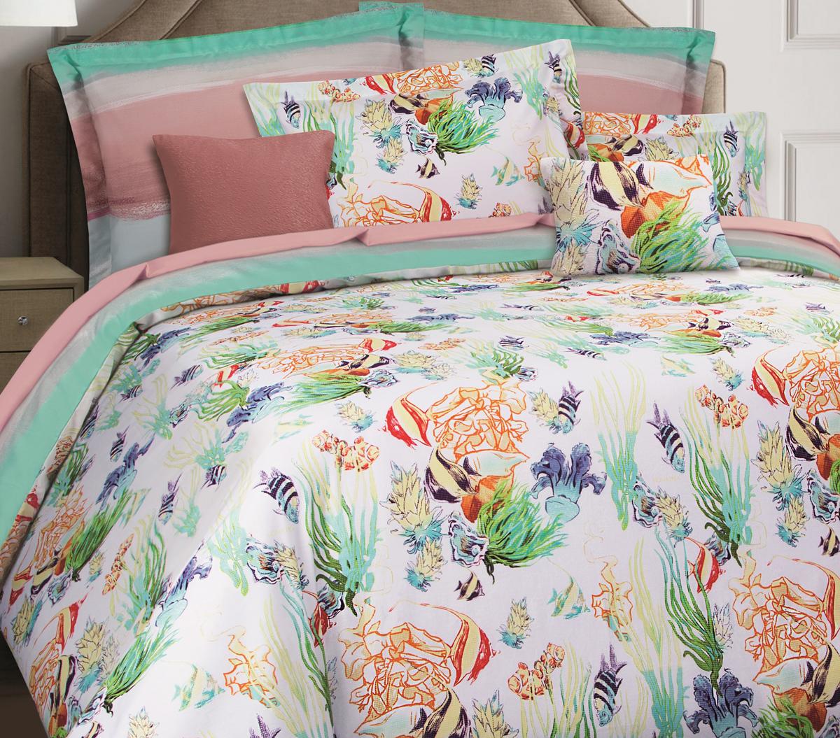 Комплект белья Mona Liza Premium Atelier Sirena, 2-спальный, наволочки 50х70, 70х70. 5044-0013 цена