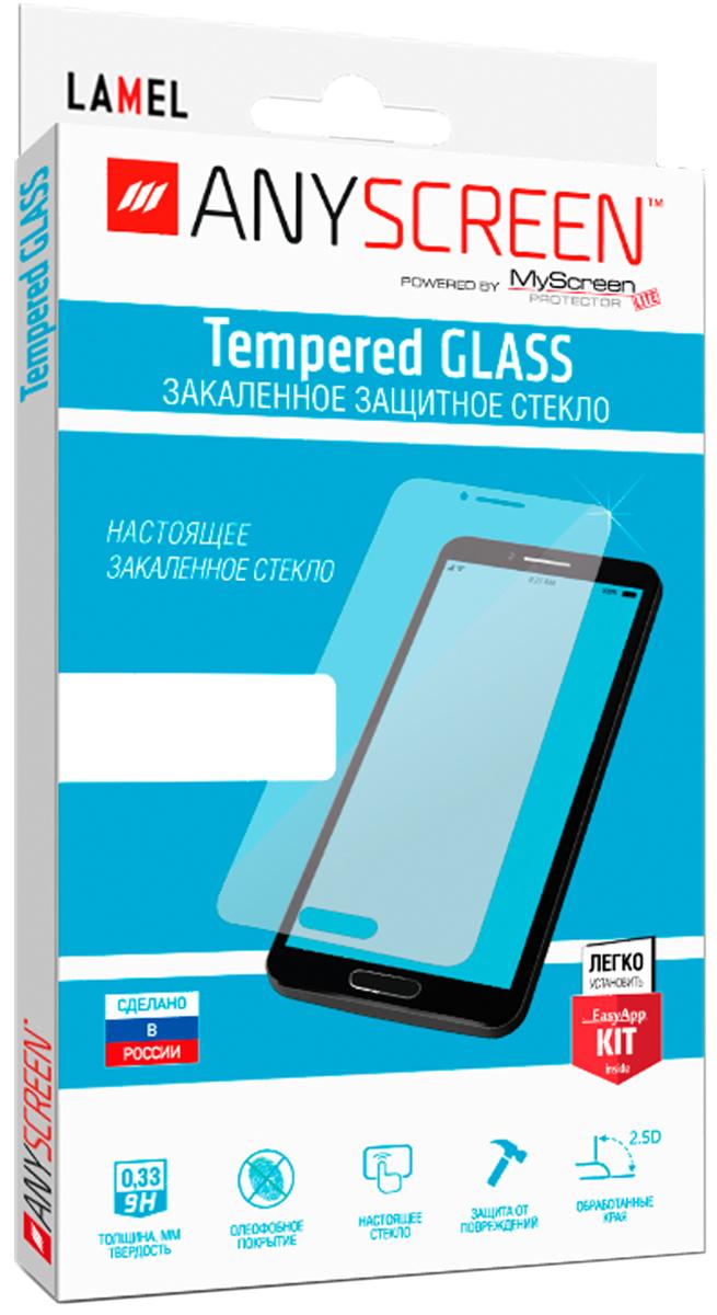 AnyScreen Tempered Glass защитное стекло для Asus Zenfone 3 ZU680KL, Transparent glasto durable organic tempered glass screen guard film for iphone 5 transparent