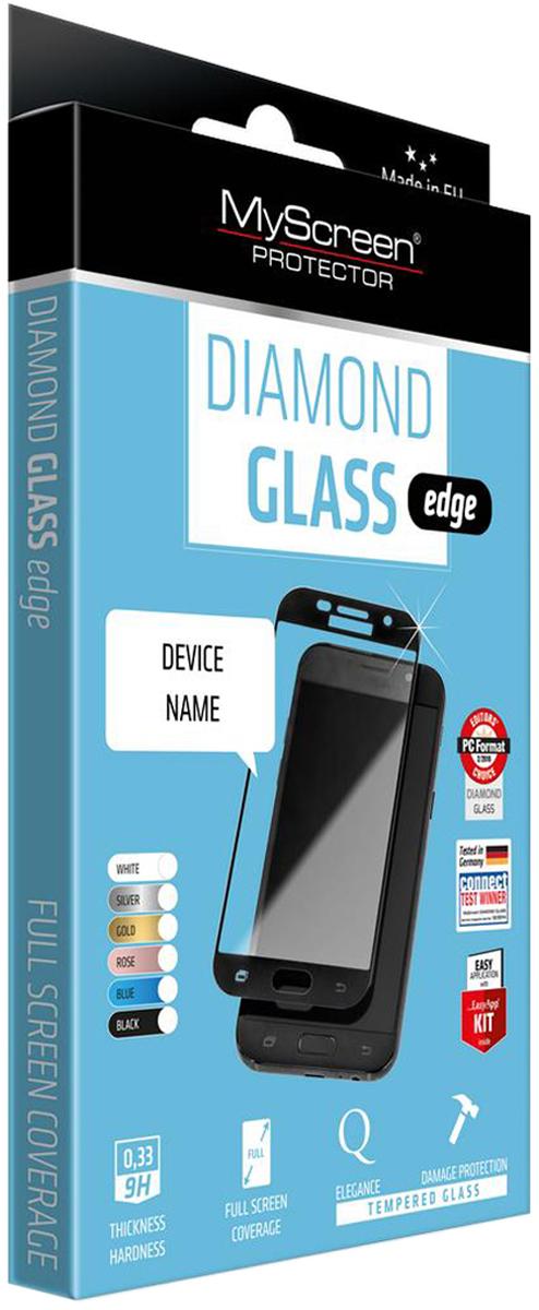 MyScreen Glass Edge защитное стекло 2,5D для Apple iPhone 6/6S Plus, Black 4 6 inch diamond grinding wheel metal bond abrasive tools for glass round straight v edge glass shape edging machine m004