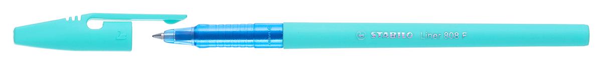 Классическая STABILO liner 808 в нежных пастельных цветах корпуса смотрится привлекательно и по новому. Цвет чернил синий. Удобная и практичная ручка, отличающаяся надежностью и длительностью письма. Специальная технология фиксирования пишущего шарика защищает от утечки чернил, обеспечивает тонкую аккуратную линию и мягкое скольжение. Толщина линии F- 0,38 мм