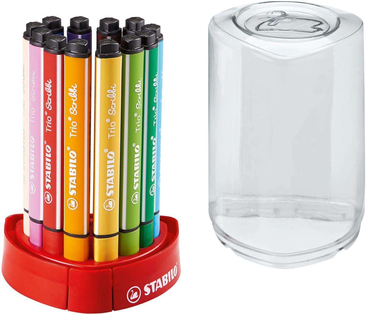 все цены на STABILO Набор фломастеров Scribbi 12 цветов онлайн