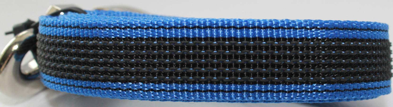 Фото - Поводок для собак Happy Friends, нескользящий, цвет: синий, ширина 2 см, длина 1,20 м боди детский luvable friends 60325 f бирюзовый р 55 61
