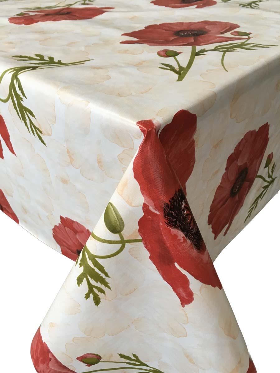 Клеенка столовая L'Cadesi Trendi, прямоугольная, 140 х 165 см. TR140165-02001-00