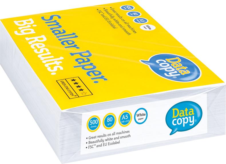 Data Copy Бумага для принтера формат А5 500 листов А класс