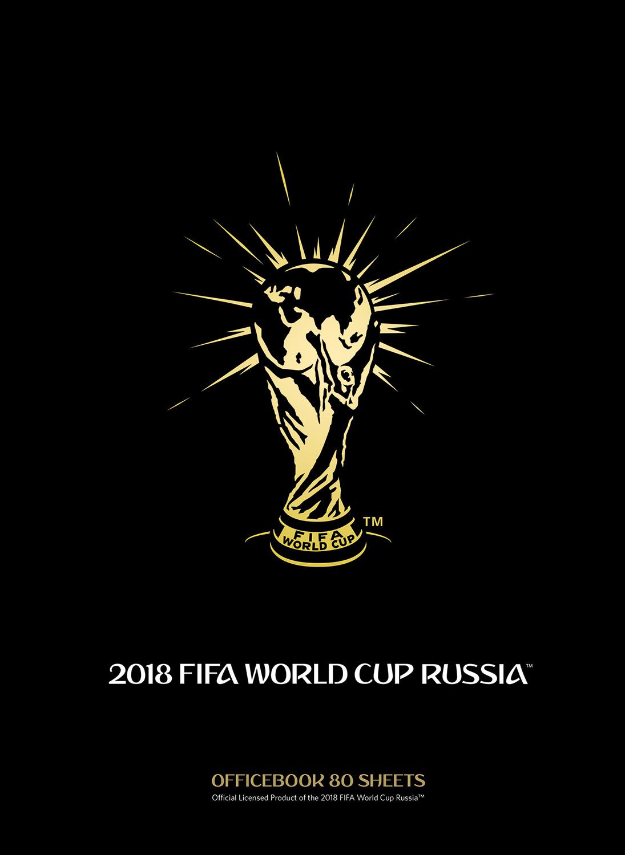FIFA-2018 Блокнот ЧМ по футболу 2018 Золотая эмблема 80 листов 80ББ4лофВ1_17485 недорго, оригинальная цена
