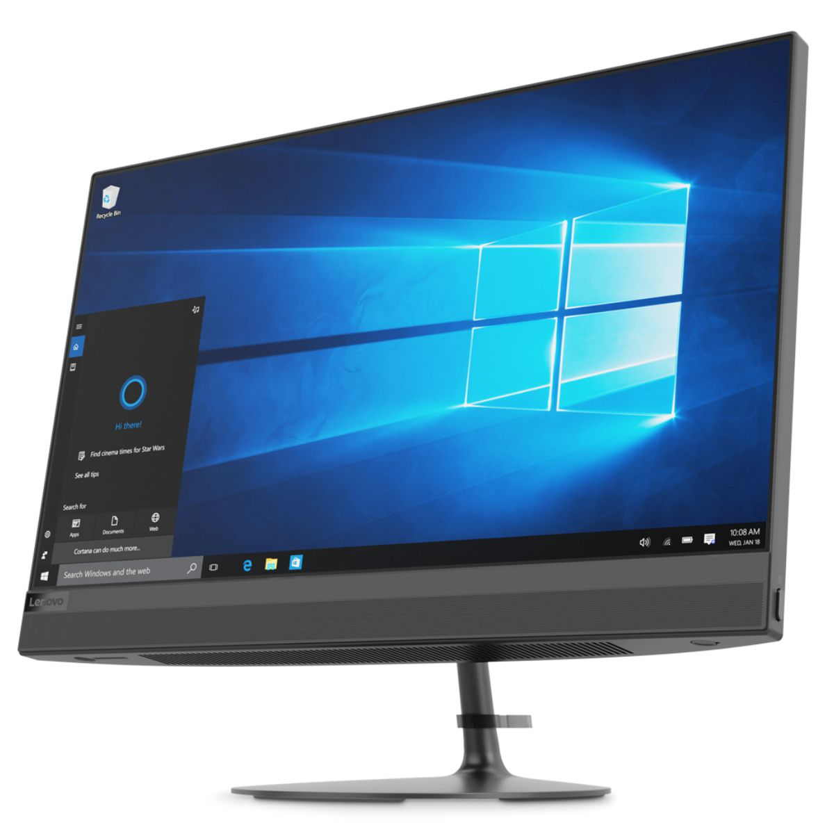 Lenovo IdeaCentre AIO 520-22IKL, Black моноблок (F0D40077RK)