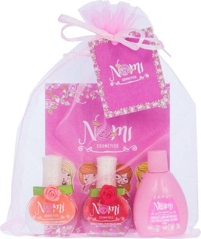 Nomi Подарочный набор детской косметики №17 комплекты детской одежды mini world подарочный набор для девочки 5 предм��тов mw13908