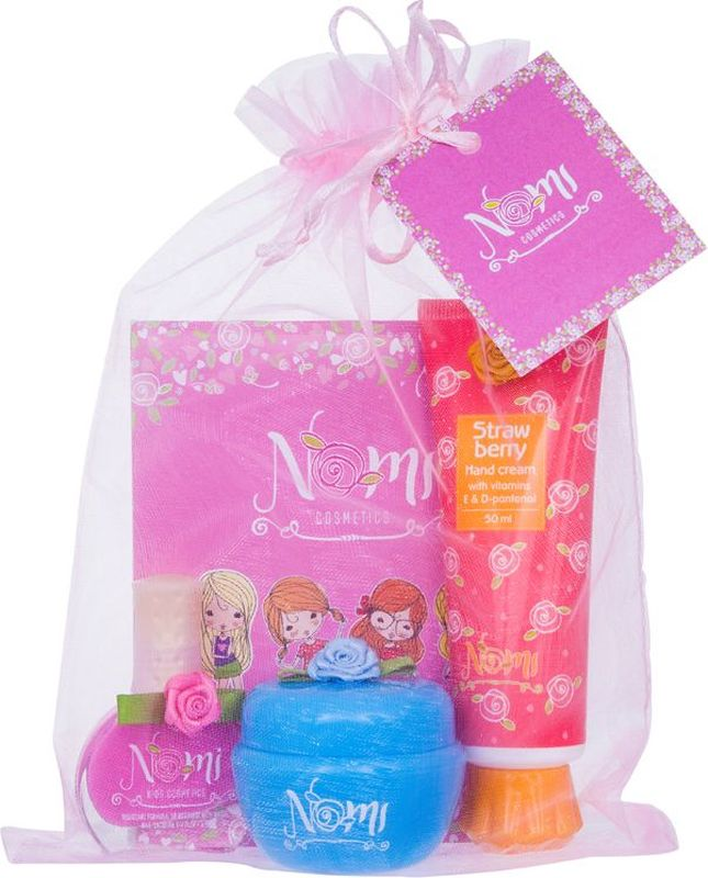 Nomi Подарочный набор детской косметики Ласковый уход