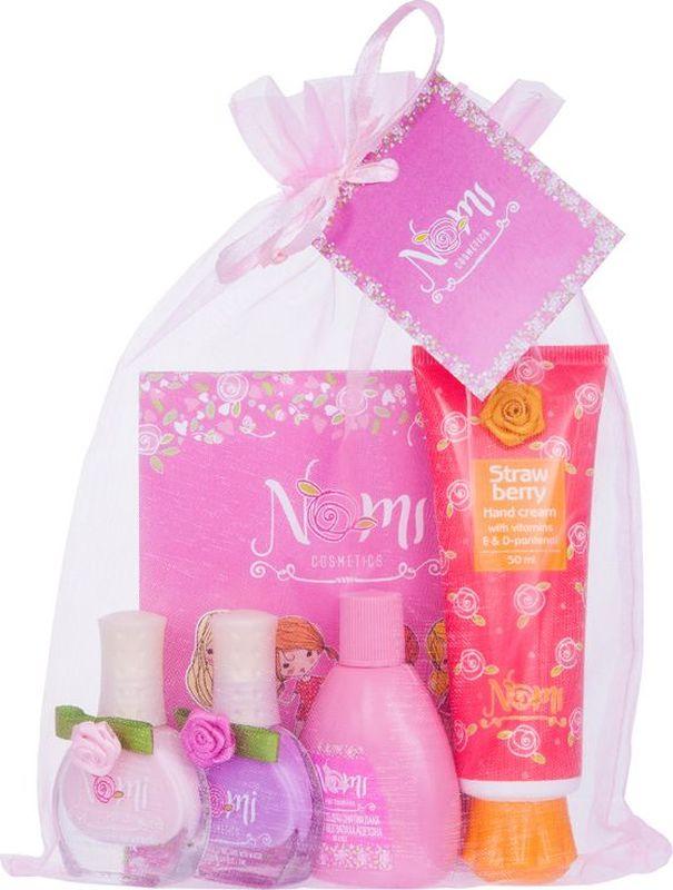 Nomi Подарочный набор детской косметики Розовое настроение комплекты детской одежды mini world подарочный набор для девочки 5 предм��тов mw13908