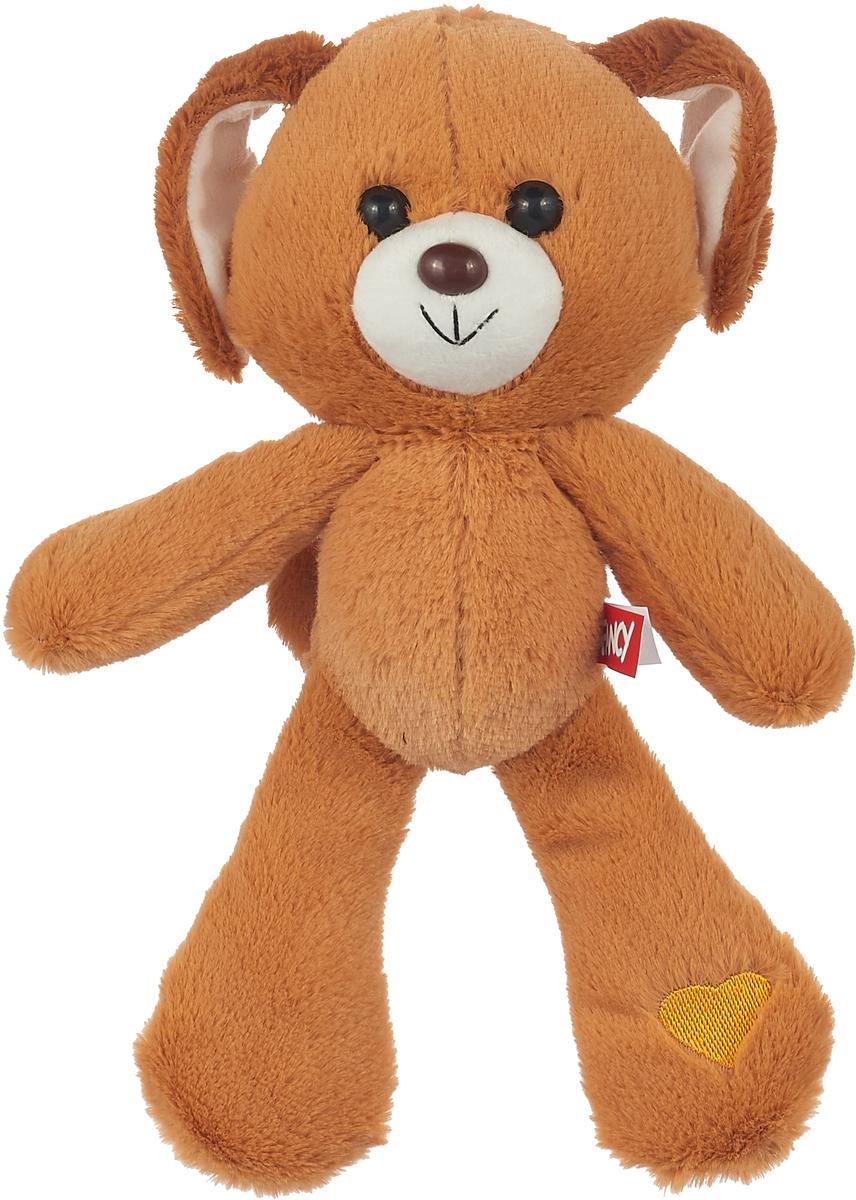 Fancy Мягкая игрушка Собачка Банди цвет светло-коричневый 28 см fancy котёнок бася fancy