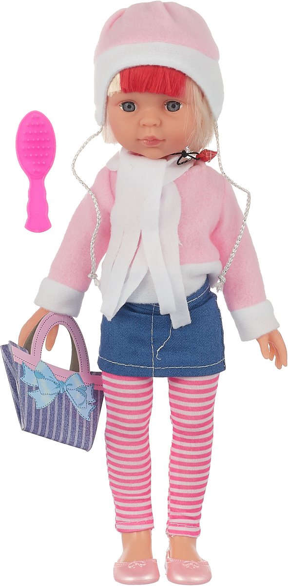Doll&Me Кукла с аксессуарами цвет наряда розовый джинс 34 х 17 х 9 см 1020 high end 55cm silicone reborn doll toddler vinyl simulated dolls brinquedos christmas new year boutique gifts play house doll