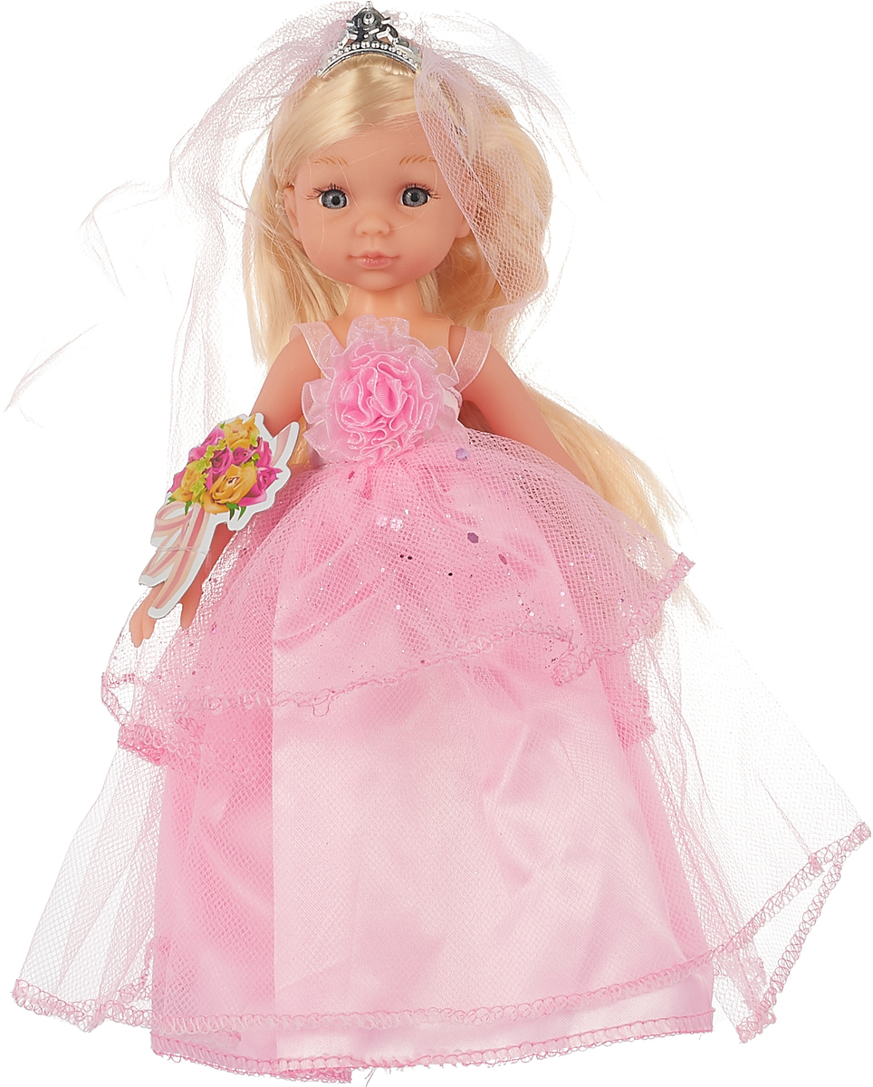 Tongde Кукла Невеста цвет наряда розовый 1028 defa toys кукла lucy happy wedding цвет платья розовый