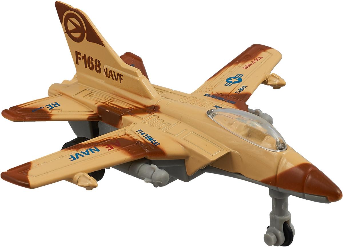 Big Motors Военный истребитель инерционный цвет светло-коричневый
