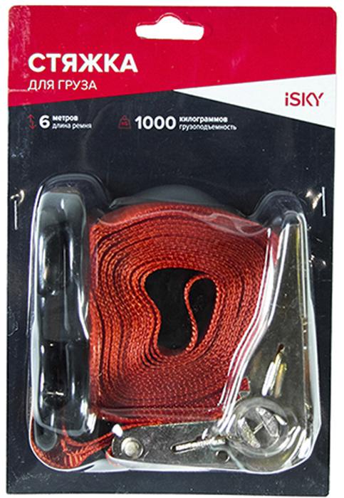 Купить Стяжка iSky , 1 т, 6 м, 25 мм