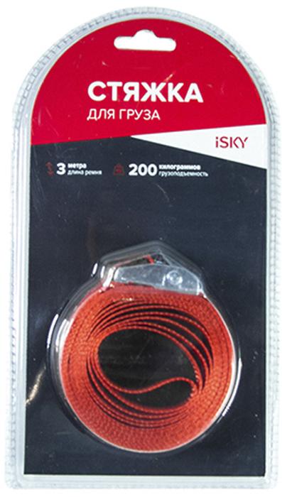 Купить Стяжка iSky , 200 кг, 3 м, 25 мм