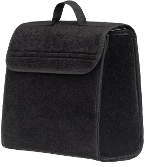Купить Органайзер в багажник iSky , войлочный, цвет: черный, 30 x 30 x 15 см