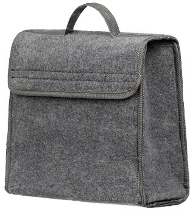 Купить Органайзер в багажник iSky , войлочный, цвет: серый, 30 x 30 x 15 см. iOG-30G