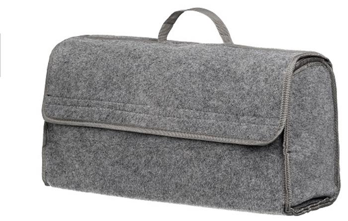 Купить Органайзер в багажник iSky , войлочный, цвет: серый, 50 x 25 x 15 см