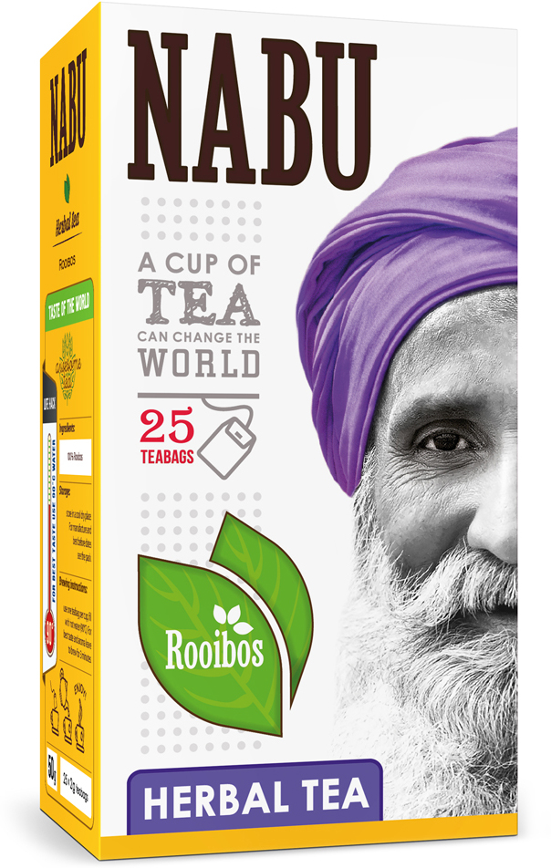 Nabu Tea Rooibos чайный напиток в пакетиках, 25 шт teabreeze чайный напиток каркаде в пакетиках 25 шт