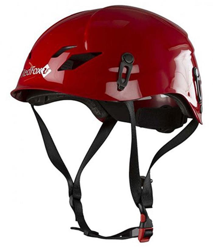 """Комфортная и прочная, хорошо вентилируемая каска Red Fox """"K2"""". Каска имеет точки крепления фонарика, регулируемый объем (ролик в затылочной части для регулировки одной рукой).Каска разработана для каньонинга, виа феррата, альпинизма, ледолазания, спелеологии, спортивного скалолазания.Внешняя поверхность: ABS современный термоматериал.Внутренняя поверхность: EPS Полистирен.Размер: 54-62 см.Вес: 385 г.Сертификат СЕ EN 12492 UIAA."""