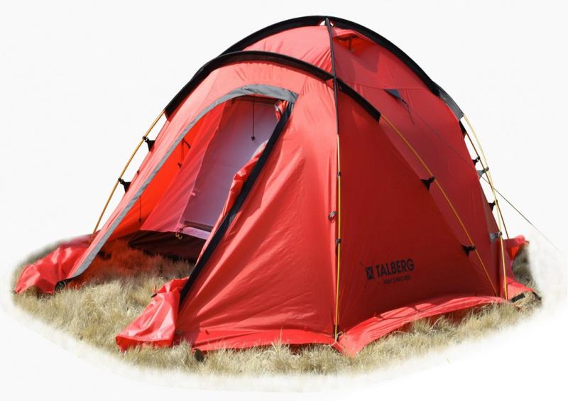 Палатка Talberg Peak Pro 3 R, цвет: красный