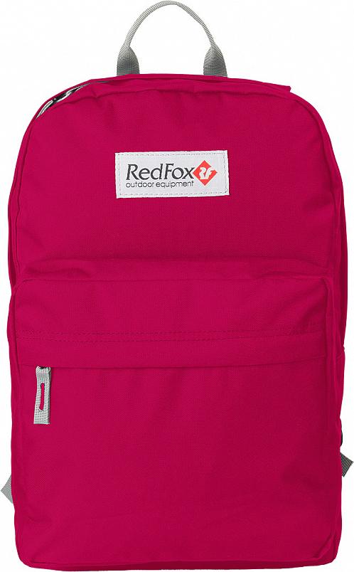 Рюкзак детский городской Red Fox Bookbag M1, цвет: бордовый, 25 л портмоне d angeny портмоне