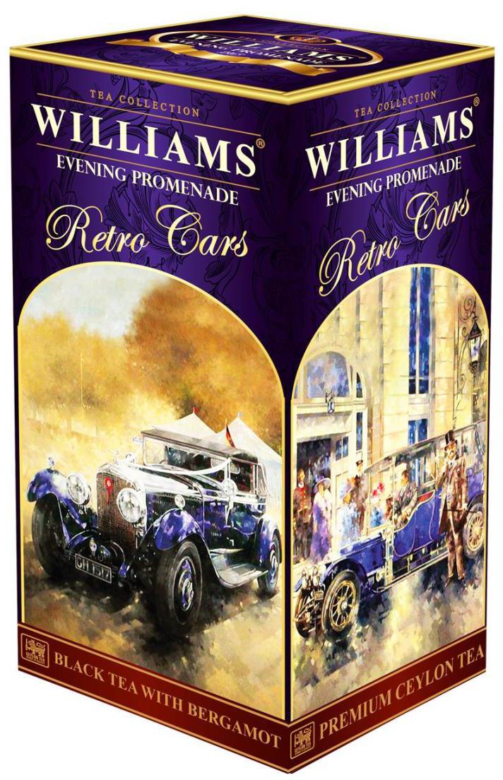 Williams Evening Promenade Вечерняя Прогулка чай черный листовой с маслом бергамота, 250 г кабель maverick lightning 1 м белый