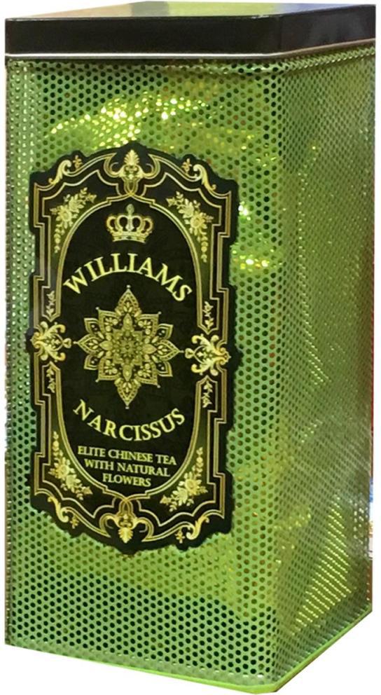 Williams Narcissus чай зеленый листовой молочный улун, 150 г lancaste молочный улун с малиной чай зеленый листовой 100 г