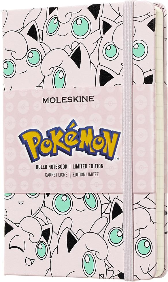 Moleskine Блокнот Pockemon Limited Edition Jigglypuff 9 x 14 см 96 листов в линейку цвет разноцветный