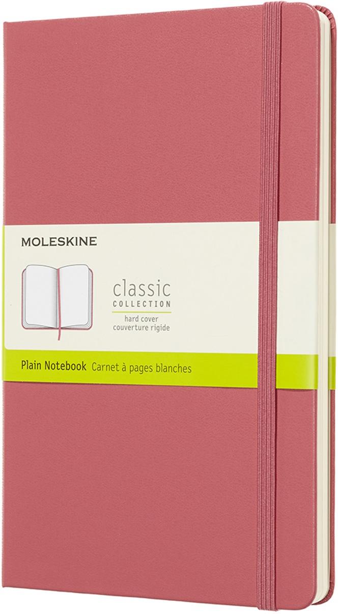 Moleskine Блокнот Classic Large 13 x 21 см 120 листов нелинованный цвет розовый