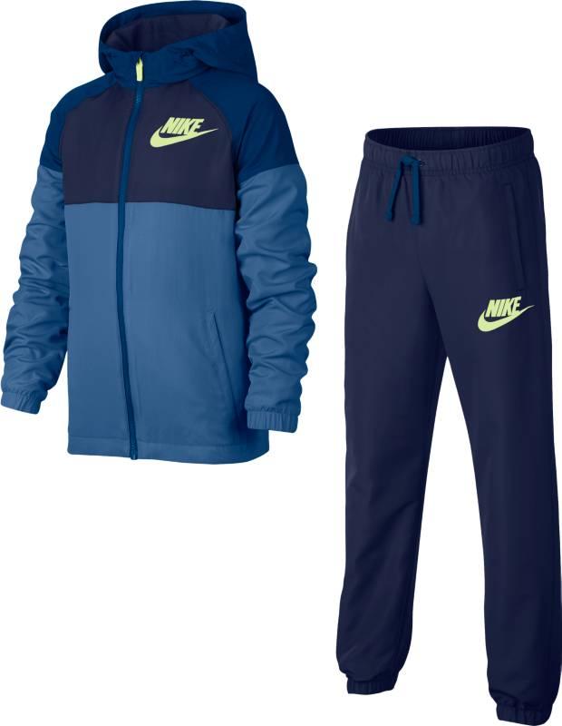 Спортивный костюм для мальчика Nike B Nsw Trk Suit Winger W, цвет: синий. 856209-494. Размер M (134/146)