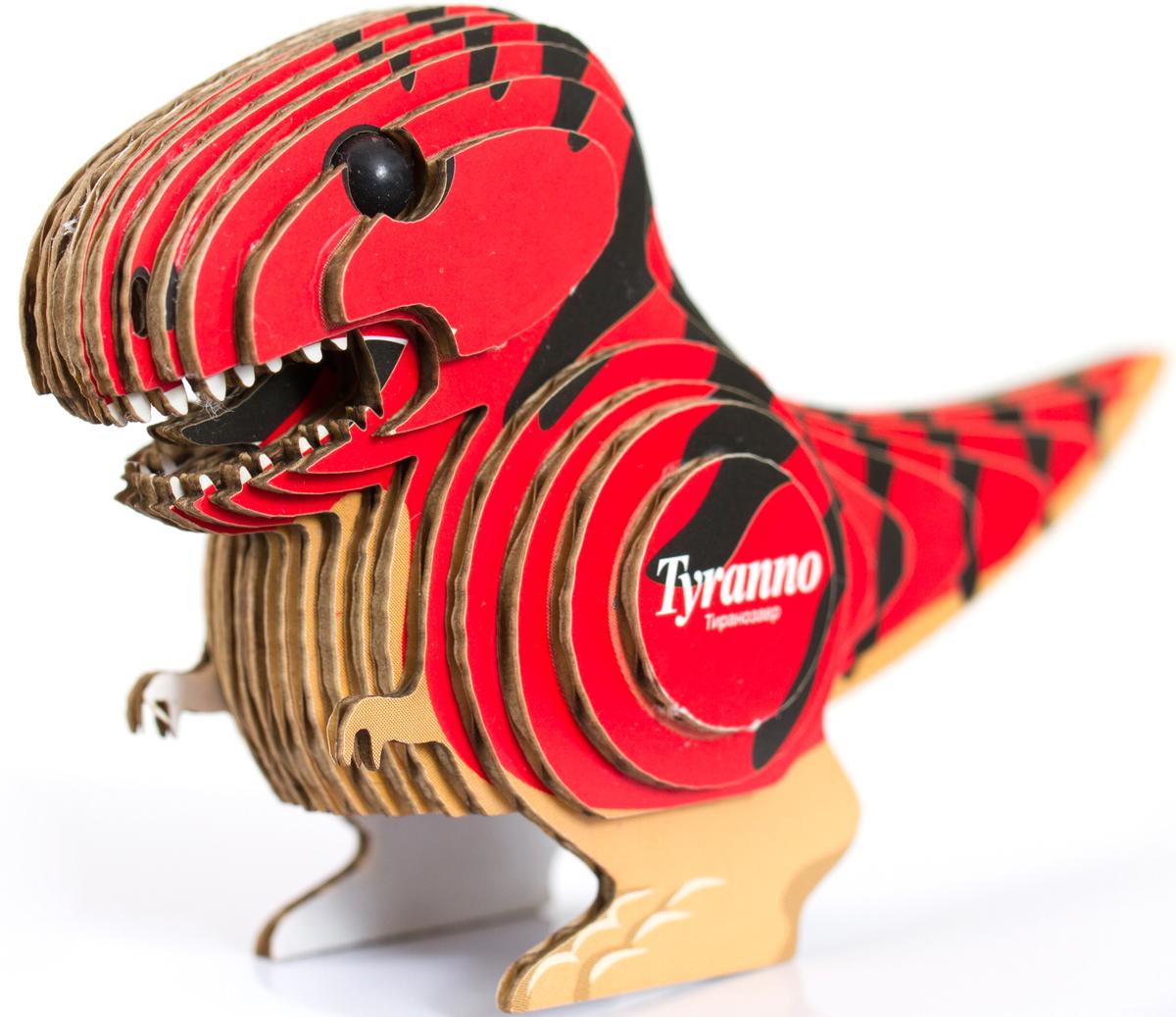 Pandapuzzle 3D Пазл Тираннозавр коллекционная трехмерная модель