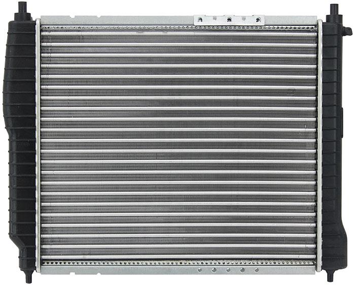 """Радиатор алюминиевый """"Kroner"""", для Chevrolet Aveo 2005- 1.2i/1.4i MT, Lanos 2005- K200003"""