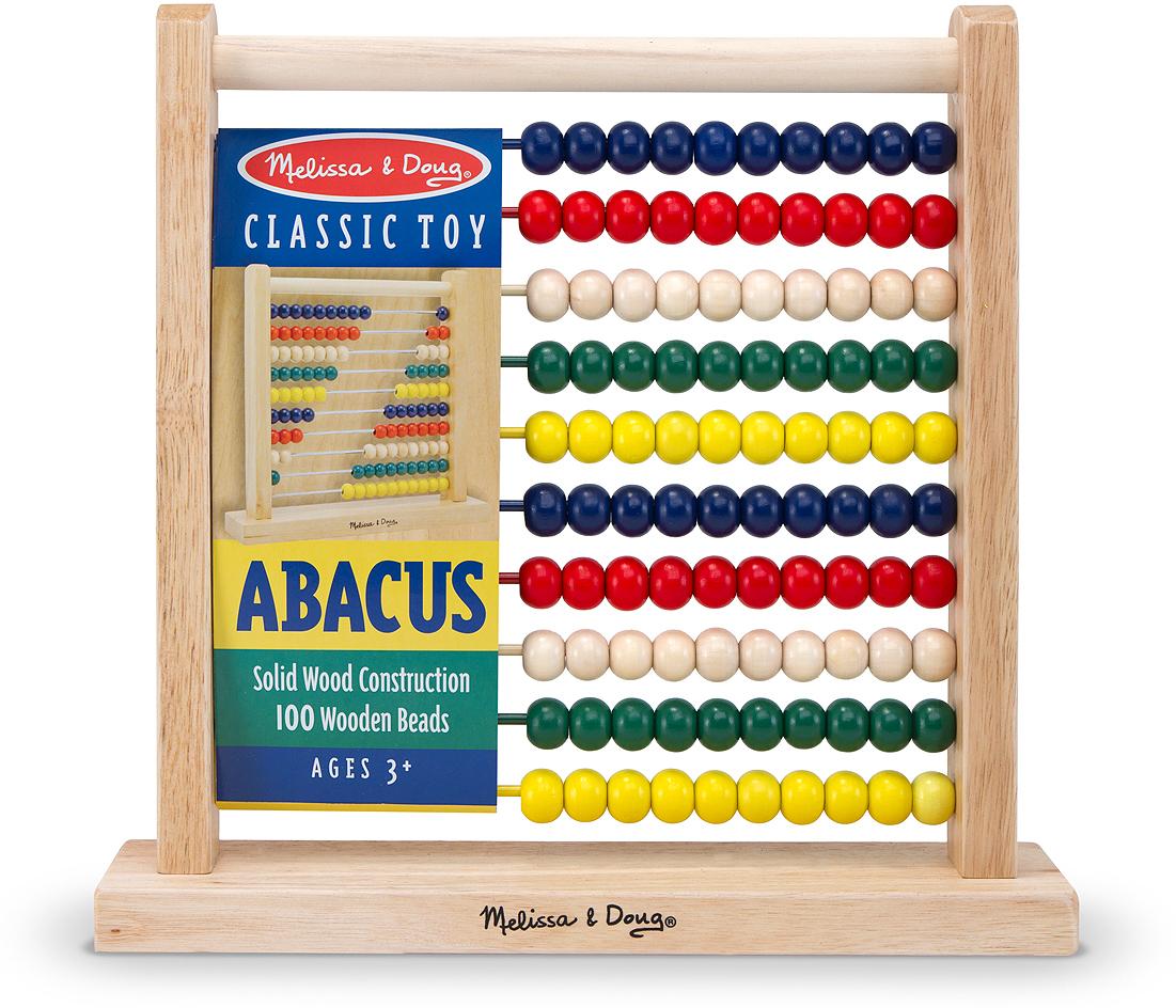Melissa & Doug Классические игрушки Счеты